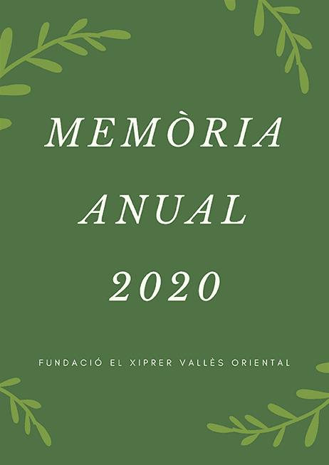 Memòria Anual 2020